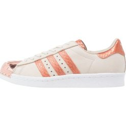Trampki damskie slip on: adidas Originals SUPERSTAR 80S METAL TOE Tenisówki i Trampki brown/white