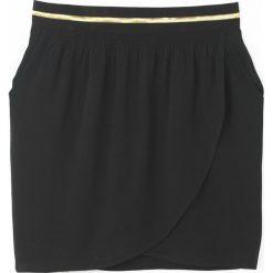 Minispódniczki: Spódnica drapowana z gumką w talii