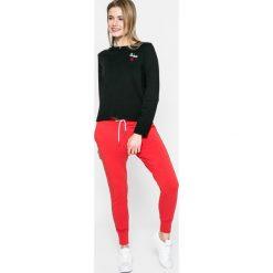 Answear - Bluza. Czarne bluzy damskie marki ANSWEAR, l, z bawełny, bez kaptura. W wyprzedaży za 39,90 zł.