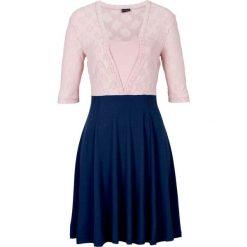 Sukienki balowe: Sukienka koronkowa bonprix ciemnoniebieski