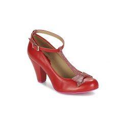 Czółenka Cristofoli  COLICOU. Czerwone buty ślubne damskie Cristofoli. Za 535,20 zł.