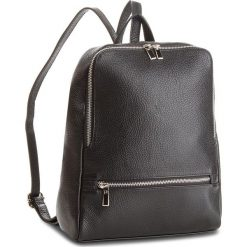 Plecak CREOLE - K10505  Czarny. Czarne plecaki damskie Creole, ze skóry. W wyprzedaży za 209,00 zł.