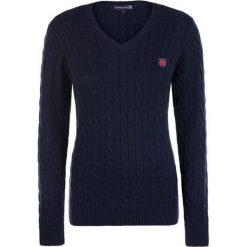 Sweter w kolorze granatowym. Niebieskie swetry klasyczne damskie marki Giorgio di Mare, xs, z dzianiny. W wyprzedaży za 130,95 zł.