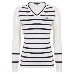 Giorgio Di Mare Sweter Damski S Biały. Białe swetry klasyczne damskie marki Giorgio di Mare, s. W wyprzedaży za 159,00 zł.