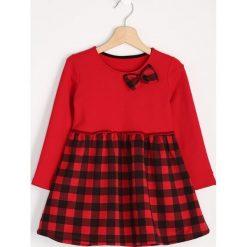 Sukienki niemowlęce: Czerwona Sukienka Red Bow