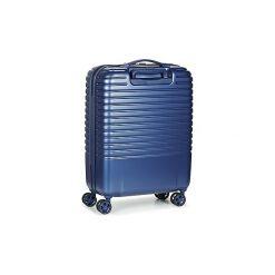 Walizki twarde Delsey  CAUMARTIN PLUS VALISE TROLLEY CABINE SLIM 4 DOUBLES ROUES 55 CM. Niebieskie walizki marki Delsey. Za 706,30 zł.