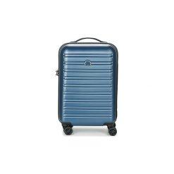 Walizki twarde Delsey  SEGUR CAB 4DR 55CM. Niebieskie torebki klasyczne damskie marki Delsey. Za 699,00 zł.