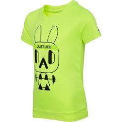Bluzki dziewczęce: Koszulka treningowa dla małych chłopców JTSM304 – neonowy żółty