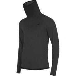 Golfy męskie: Męska bluza funkcyjna z golfem 4F Grey