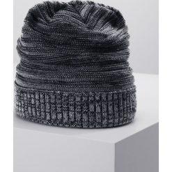 Eisbär CARLISLE Czapka graumele/schwarz/anthrazit. Szare czapki męskie Eisbär, z materiału. W wyprzedaży za 135,20 zł.