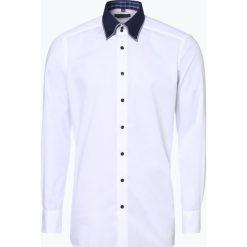 Finshley & Harding - Koszula męska, czarny. Czarne koszule męskie na spinki Finshley & Harding, l, z bawełny. Za 199,95 zł.