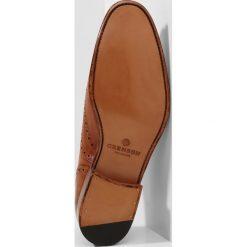 Buty wizytowe męskie: Grenson DYLAN Eleganckie buty tan handpainted