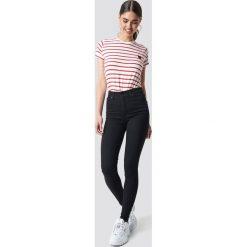 Levi's Jeansy Mile High Super Skinny Black Galaxy - Black. Brązowe jeansy damskie skinny marki Levi's®, z obniżonym stanem. Za 404,95 zł.
