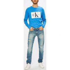 Calvin Klein Jeans - Jeansy. Niebieskie jeansy damskie skinny marki Calvin Klein Jeans. W wyprzedaży za 539,90 zł.