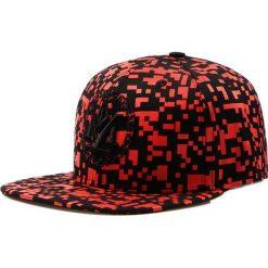 Czapka męska snapback czarno-czerwona (hx0173). Czarne czapki z daszkiem męskie marki Dstreet, z haftami, eleganckie. Za 69,99 zł.