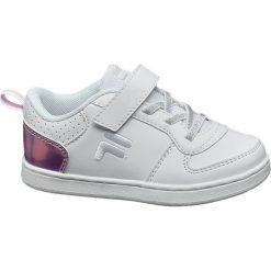 Trampki chłopięce: sneakersy dziecięce Fila białe