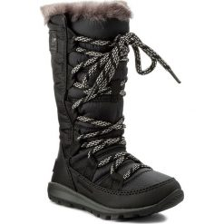 Kozaki dziewczęce: Śniegowce SOREL – Childre's Whitney Lace NC1895 Black 010
