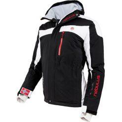 """Kurtka narciarska """"Rocket"""" w kolorze czarno-białym. Czarne kurtki sportowe męskie Nebulus, m, narciarskie. W wyprzedaży za 431,95 zł."""