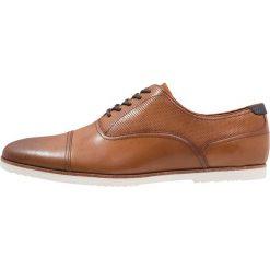 ALDO CYFORIEN Sznurowane obuwie sportowe cognac. Brązowe buty sportowe męskie ALDO, z materiału, na sznurówki. Za 379,00 zł.