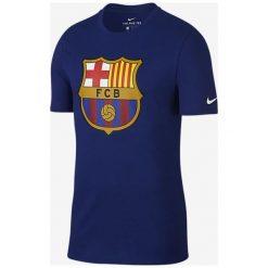Nike Koszulka męska FCB M NK Tee Evergreen Crest granatowa r. S (898621 455). Niebieskie t-shirty męskie Nike, m. Za 82,47 zł.