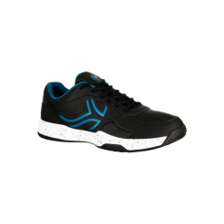 BUTY tenisowe TS190 męskie na twardą nawierzchnię. Czarne buty do tenisa męskie marki Asics. Za 119,99 zł.