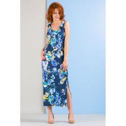 Sukienki: Sukienka maxi, w kwiaty