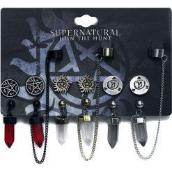 Supernatural Symbols Kolczyki wielokolorowy. Szare kolczyki damskie Supernatural. Za 79,90 zł.