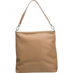 """Skórzana torebka """"Cary 13"""" w kolorze jasnobrązowym - 33 x 34 x 14 cm. Brązowe torebki klasyczne damskie marki ARTENGO, z materiału. W wyprzedaży za 409,95 zł."""