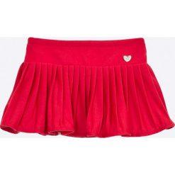 Blukids - Spódnica dziecięca 68-98 cm. Czerwone spódniczki dziewczęce Blukids, z dzianiny, mini. W wyprzedaży za 59,90 zł.