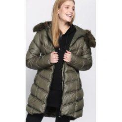 Zielona Kurtka Well-Lighted. Brązowe kurtki damskie pikowane marki QUECHUA, na zimę, m, z materiału. Za 204,99 zł.
