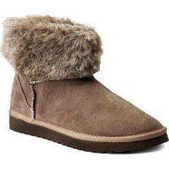 Buty zimowe damskie: Buty INBLU – EY70C161 Beżowy Ciemny