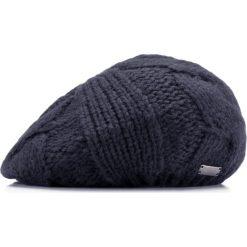 85-HF-020-7 Czapka damska. Niebieskie czapki damskie Wittchen, na zimę, z dzianiny. Za 39,00 zł.
