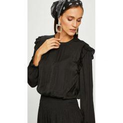 Scotch & Soda - Sukienka. Czarne długie sukienki marki Scotch & Soda, na co dzień, l, z poliesteru, casualowe, z okrągłym kołnierzem, z długim rękawem, rozkloszowane. W wyprzedaży za 449,90 zł.