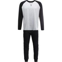 Piżamy męskie: YOURTURN SET Piżama black/grey