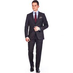 Garnitur Popielaty Woodrow. Szare garnitury marki LANCERTO, z tkaniny. W wyprzedaży za 499,90 zł.