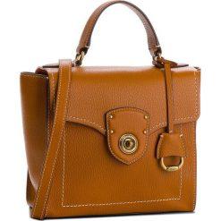 Torebka LAUREN RALPH LAUREN - Millbrook 431699021002 Brown. Brązowe torebki klasyczne damskie Lauren Ralph Lauren, ze skóry. W wyprzedaży za 849,00 zł.