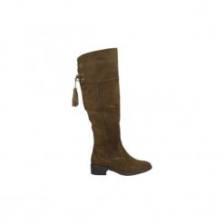 Kozaki Carmela  66364. Brązowe buty zimowe damskie Carmela. Za 483,65 zł.