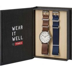 Timex - Zegarek TWG012500. Czarne zegarki męskie marki Fossil, szklane. W wyprzedaży za 279,90 zł.