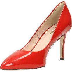 Czółenka SAVONA. Czerwone buty ślubne damskie Gino Rossi, z lakierowanej skóry, na wysokim obcasie, na szpilce. Za 299,90 zł.