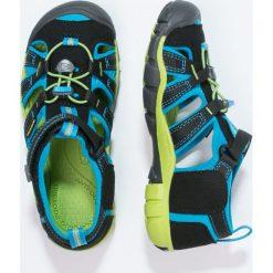 Keen SEACAMP II CNX Sandały trekkingowe black/blue danube. Czarne sandały chłopięce Keen, z gumy. Za 239,00 zł.