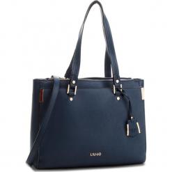 Torebka LIU JO - L Tote Isola A68001 E0087 Blue Oltreoceano 94121. Niebieskie torebki klasyczne damskie marki Liu Jo, ze skóry ekologicznej. Za 689,00 zł.