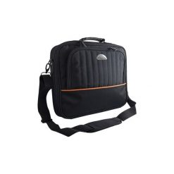 """Torba do laptopa Modecom Cleveland 16-17"""". Brązowe torby na laptopa marki Modecom, w paski, z materiału. Za 60,00 zł."""