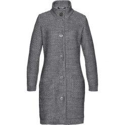 Sweter rozpinany bonprix szary melanż. Szare golfy damskie marki bonprix, melanż, z dzianiny. Za 129,99 zł.