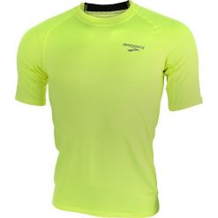 Koszulka do biegania męska BROOKS EQUILIBRIUM SHORTSLEEVE II / 210477305 - BROOKS EQUILIBRIUM SHORTSLEEVE II. Zielone koszulki sportowe męskie Brooks, m, do biegania. Za 115,00 zł.