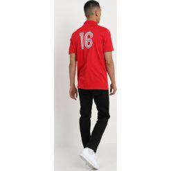 Adidas Originals BELGIUM Tshirt z nadrukiem vicred. Szare koszulki polo marki adidas Originals, l, z nadrukiem, z bawełny, z kapturem. Za 379,00 zł.
