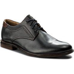 Półbuty LASOCKI FOR MEN - MB-FINANDIA-02 Granatowy. Niebieskie buty wizytowe męskie Lasocki For Men, z materiału. Za 179,99 zł.