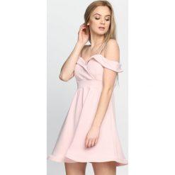 Sukienki: Różowa Sukienka Party Favors