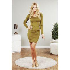Sukienki: Sukienka MINI oliwkowa TA2474
