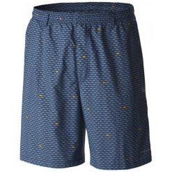 Columbia Spodenki Kąpielowe Backcast Ii Printed Short Blue L. Niebieskie kąpielówki męskie marki Oakley, na lato, z bawełny, eleganckie. W wyprzedaży za 119,00 zł.