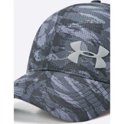 Under Armour - Czapka. Szare czapki z daszkiem męskie Under Armour, z materiału. W wyprzedaży za 79,90 zł.